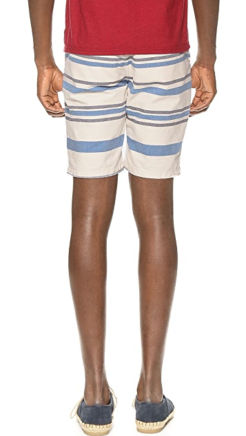 Scotch & Soda Stripe Chino Shorts