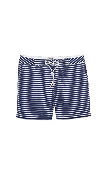 Scotch & Soda Striped Swim Trunks