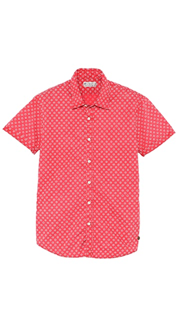 Scotch & Soda Lightweight Print Shirt