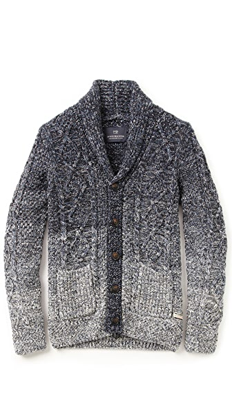 Scotch & Soda Ombre Shawl Collar Cardigan