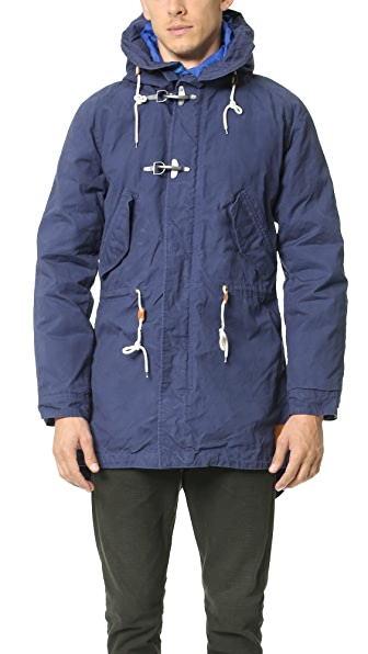 Scotch & Soda Sea Shanty Canvas Parka