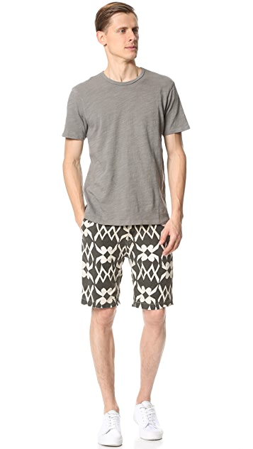 Scotch & Soda Theon Garment Dyed Chino Shorts