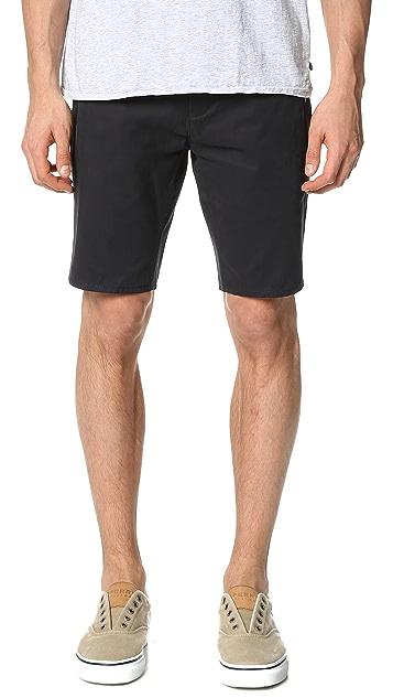 Scotch & Soda Tech Zip Chino Shorts