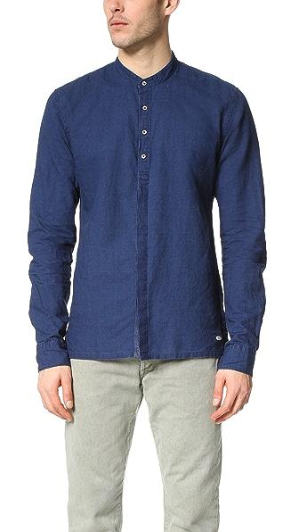 Scotch & Soda Linen Beach Shirt