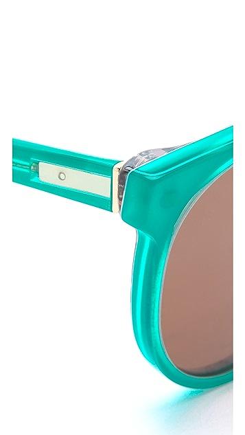 Super Sunglasses Maiolica Giaguaro Sunglasses