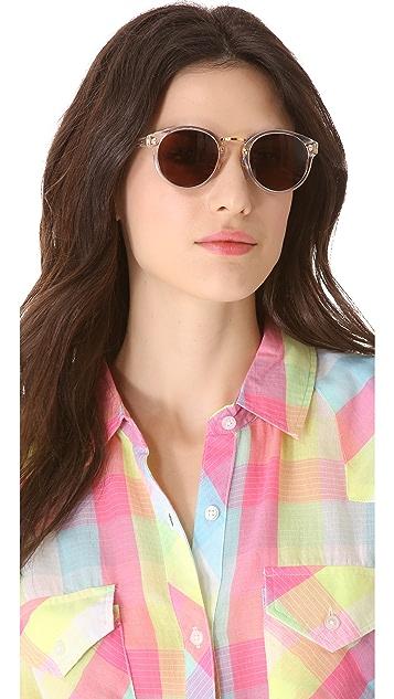 Super Sunglasses Crystal Francis Panama Sunglasses