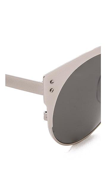 Super Sunglasses Lucia Silber Sunglasses
