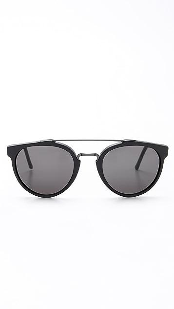 Super Sunglasses Giaguaro Black Matte Sunglasses