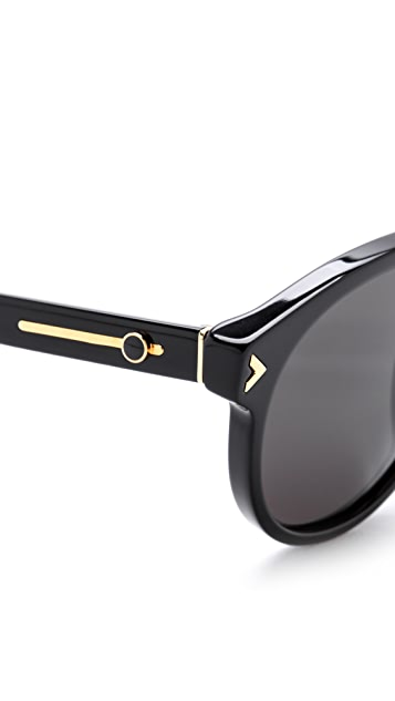 Super Sunglasses Racer Deco Sunglasses