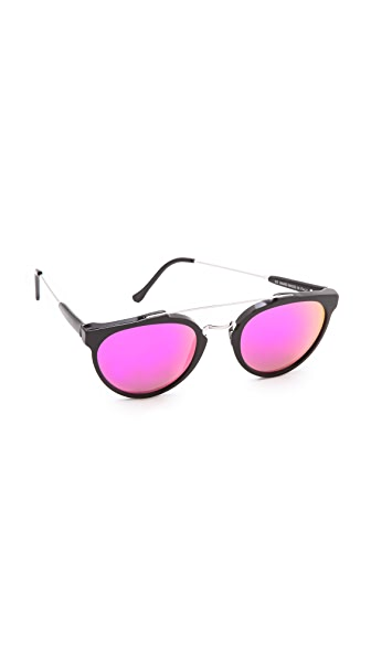 Super Sunglasses Mirrored Cove Giaguaro Sunglasses