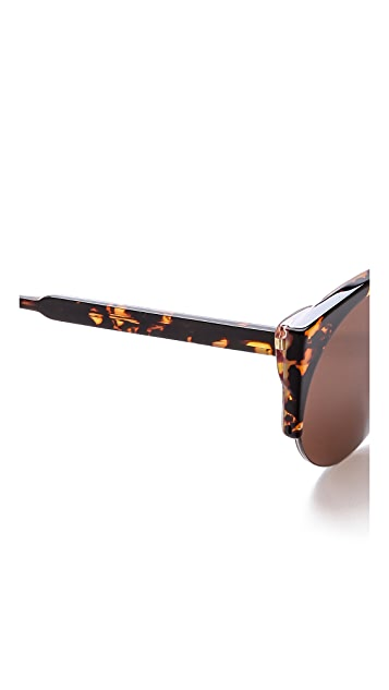 Super Sunglasses Lucia Screamer Sunglasses