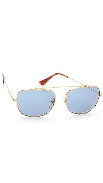 Super Sunglasses Primo Aviator Sunglasses