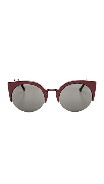 Super Sunglasses Lucia Francis Femmena Sunglasses