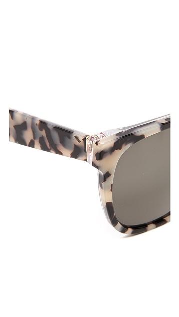 Super Sunglasses Flat Top Miracolo Sunglasses