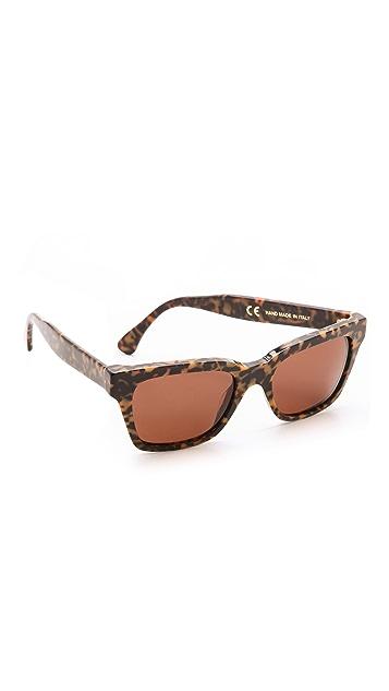 Super Sunglasses America Havana Materica Sunglasses