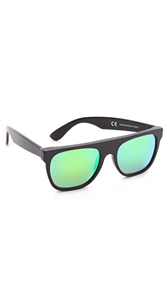 Super Sunglasses Flat Top Cove Sunglasses