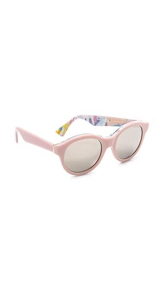 Super Sunglasses Mona Ferragosto Sunglasses