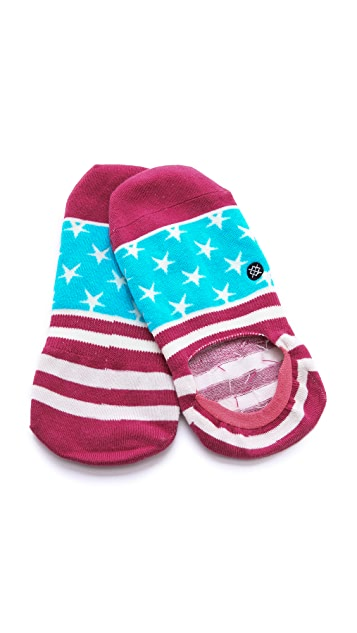 STANCE Super Invisible American Dream Socks