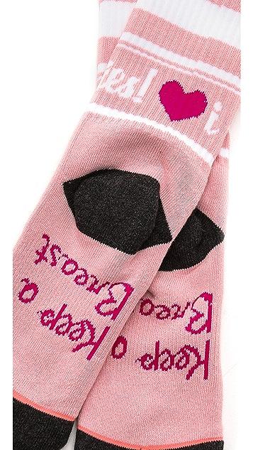 STANCE Keep A Breast Shaney Jo Tomboy Athletic Socks