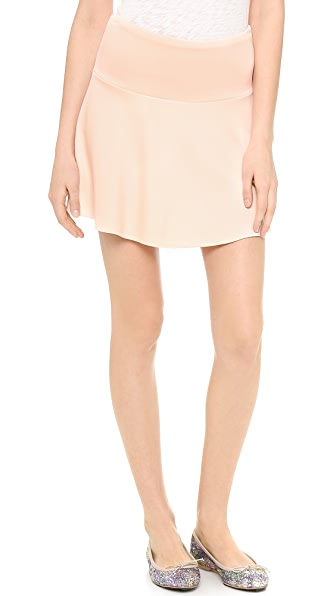 STATEof_ Ponte Flare Miniskirt