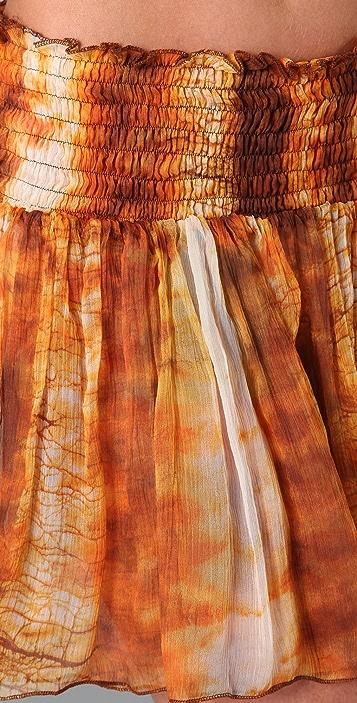 state & lake Flutter Skirt