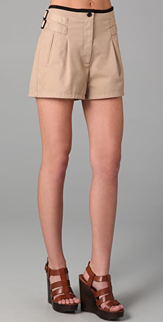 state & lake Trench Shorts