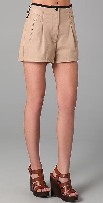 state & lake Trench Shorts