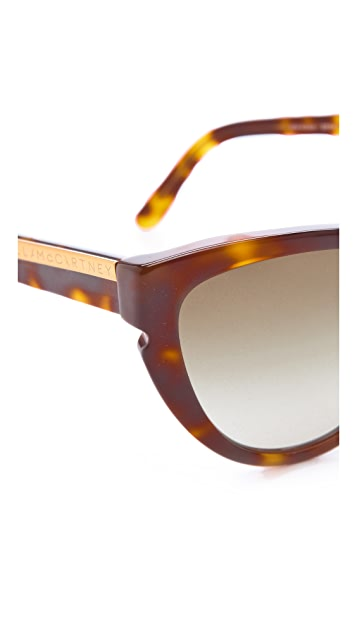 Stella McCartney Oversized Cat Eye Sunglasses