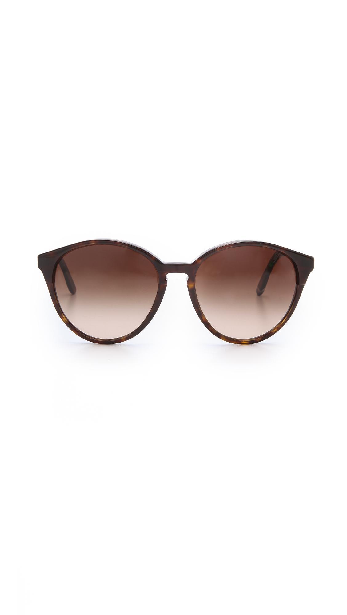 d129212d2d5d Stella McCartney Oversized Round Sunglasses