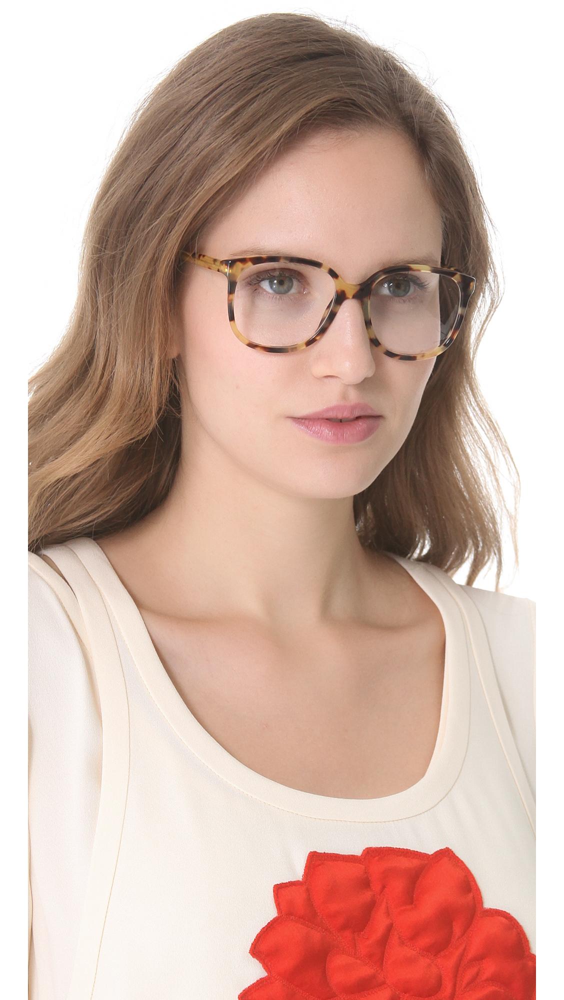 Stella McCartney Oversized Square Glasses | SHOPBOP