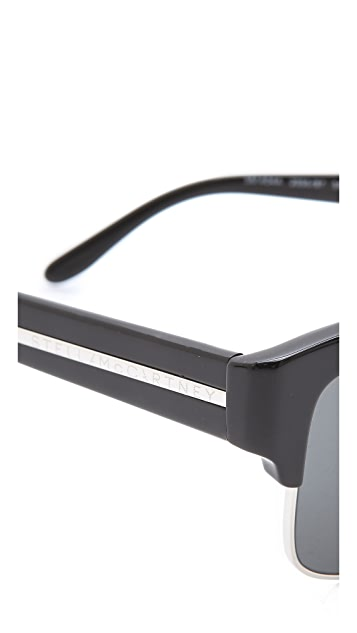 Stella McCartney Oversized Square Rimless Sunglasses