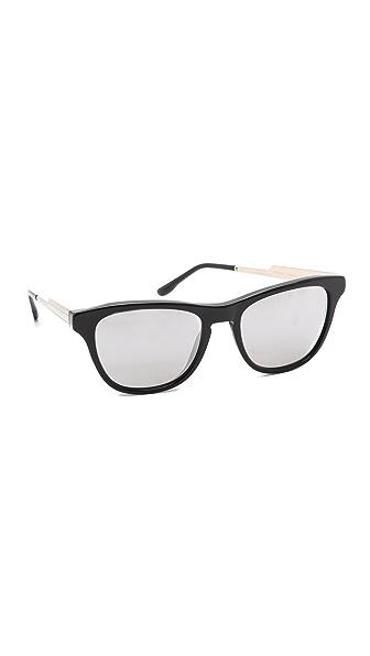 Stella McCartney Square Mirrored Sunglasses