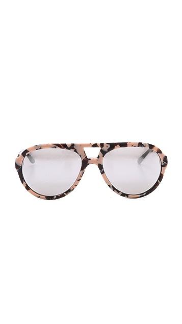Stella McCartney Mirrored Aviator Sunglasses