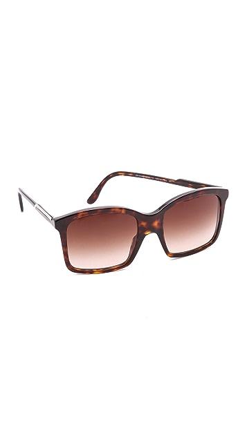 Stella McCartney Flat Bottom Sunglasses