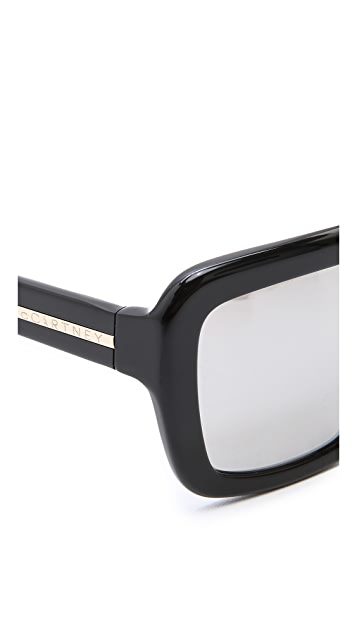 Stella McCartney Flat Top Sunglasses