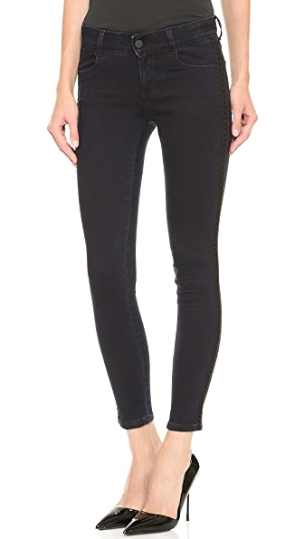 Stella McCartney Skinny Ankle Grazer Jeans - Blue/Black