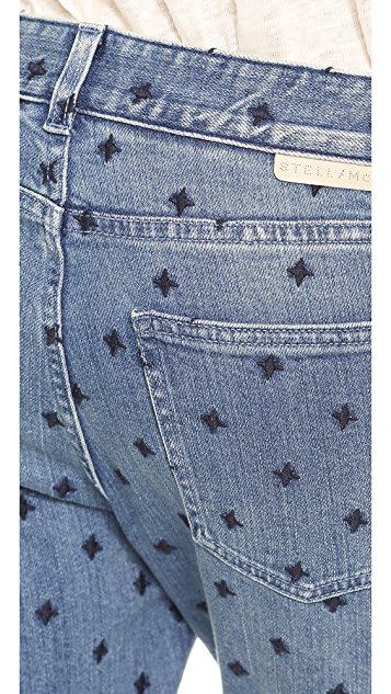 Stella McCartney Star Skinny Boyfriend Jeans