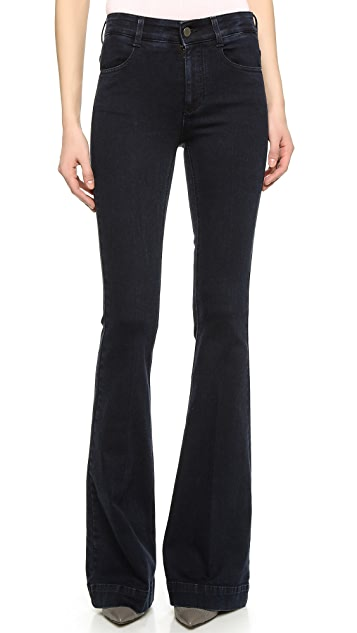 Stella McCartney The 70 Flare Long Jeans