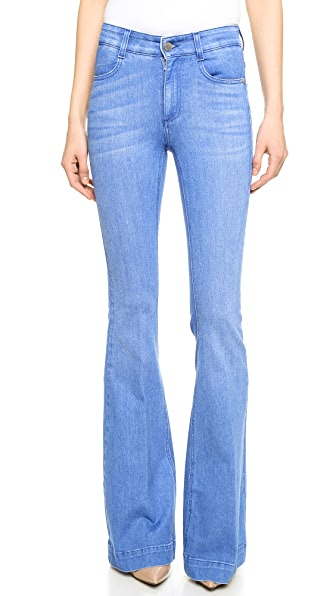Stella McCartney The '70s Flare Long Jeans | 15% off first app ...
