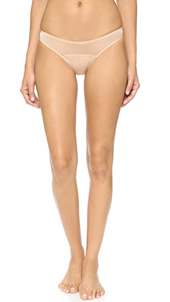 Stella McCartney Cherie Sneezing Bikini Briefs In Apricot