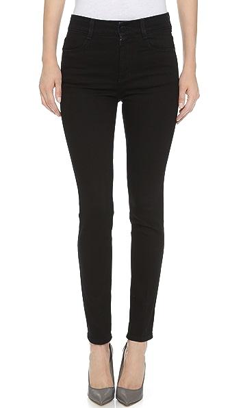 Stella McCartney The High Waisted Skinny Jeans - Black