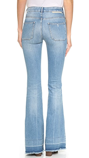 Stella McCartney 70s Flare Jeans with Patch Pockets