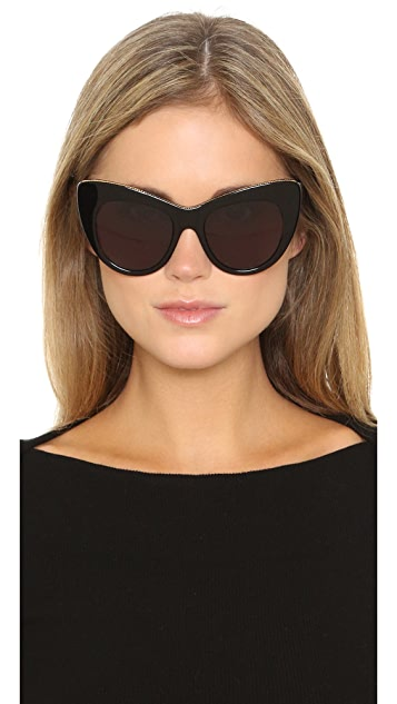Stella McCartney Chain Cat Eye Sunglasses