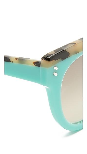 Stella McCartney Top Accent Cat Eye Sunglasses