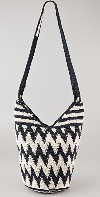Stela 9 Zigzag Crochet Beach Bag | SHOPBOP