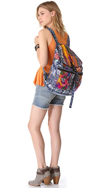 Stela 9 Santiago Patchwork Backpack