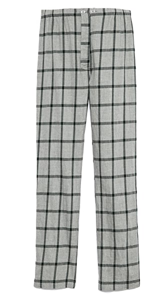 Steven Alan Brushed Check Pajama Pants