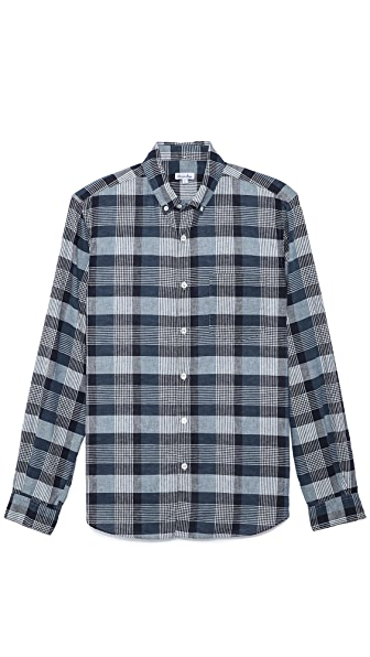Steven Alan Plaid Sport Shirt