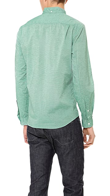 Steven Alan Striped Single Needle Shirt