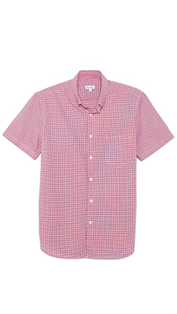 Steven Alan Check Short Sleeve Shirt
